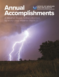 NOAA's Office of Weather & Air Quality releases Annual Accomplishments Report