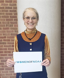 Women of NOAA: Meet Dr. Jessie Carman