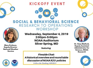 Register Now! NOAA OWAQ's Social and Behavioral Science Research to Operations Workshop